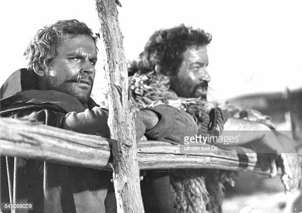 Spencer Bud *Schauspieler Italien mit Terence Hill in dem Film 'Huegel der blutigen Stiefel' 1968/69