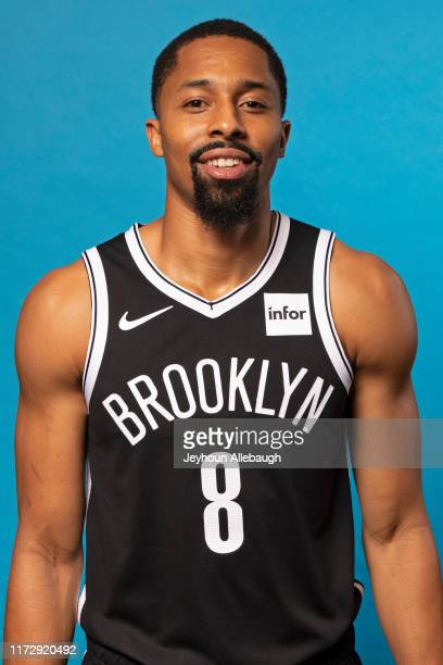 Spencer Dinwiddie of the Brooklyn Nets poses for a head shot during a Media Day on September 27 2019 at HSS Training Center in Brooklyn New York NOTE...