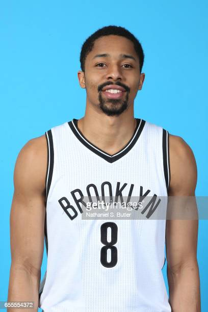 Spencer Dinwiddie of the Brooklyn Nets poses for a head shot on March 17 2017 at Barclays Center in Brooklyn New York NOTE TO USER User expressly...