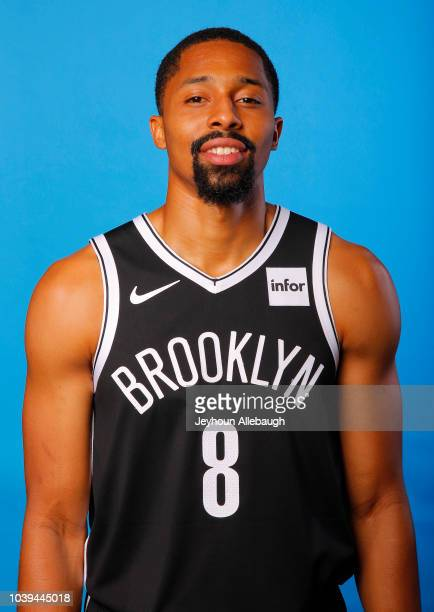 Spencer Dinwiddie of the Brooklyn Nets poses for a portrait during Media Day at the HSS Training Facility on September 24 2018 in the Brooklyn...