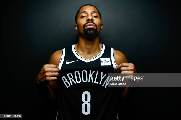 Spencer Dinwiddie of the Brooklyn Nets poses for a portrait during Media Day at the HSS Training Facility on September 24 2018 in New York City NOTE...