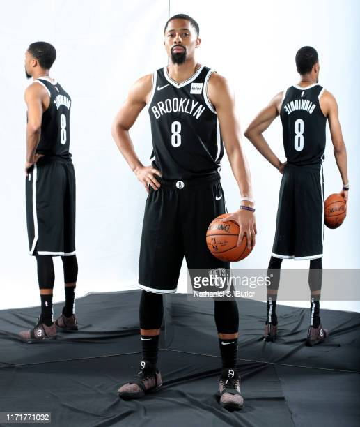Spencer Dinwiddie of the Brooklyn Nets poses for a portrait during Media Day on September 27 2019 at HSS Training Center in Brooklyn New York NOTE TO...