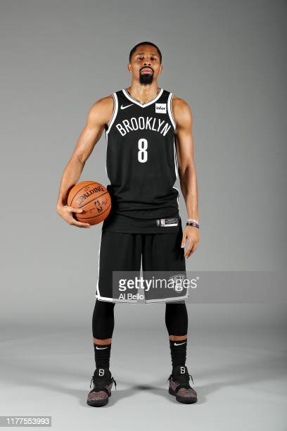 Spencer Dinwiddie of the Brooklyn Nets poses for a portrait during Media Day at HSS Training Center on September 27 2019 in New York City