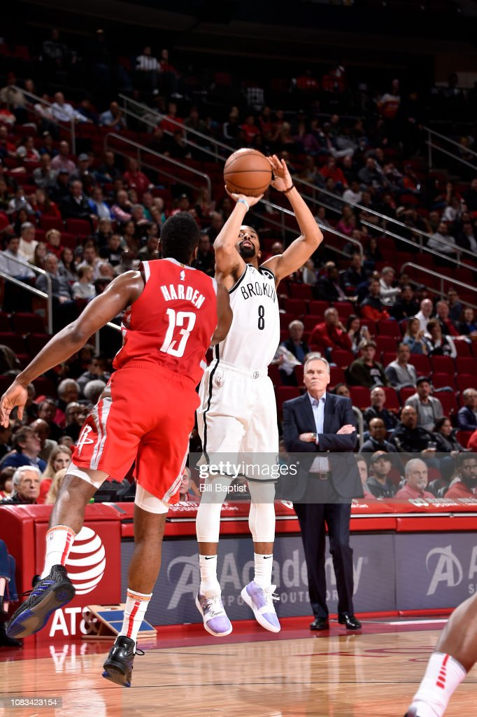 Brooklyn Nets v Houston Rockets : News Photo