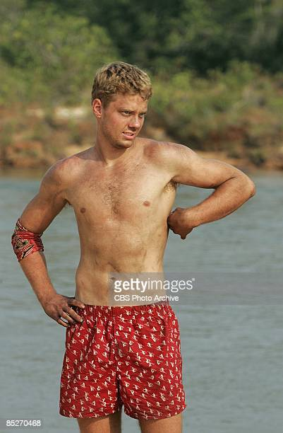 Spencer Duhm during the first episode of SURVIVOR TOCANTINS THE BRAZILIAN HIGHLANDS Thursday Feb 12 on the CBS Television Network