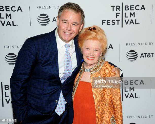 Spencer Garrett and Kathleen Nolan attend Dog Years Premiere 2017 Tribeca Film Festival at Getty Images PHOTO ASSIGNMENT 4/22/2017 Dog Years Premiere...