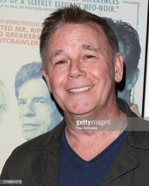 """Spencer Garrett attends the LA special screening of Sony's """"The Burnt Orange Heresy"""" at Linwood Dunn Theater on March 02, 2020 in Los Angeles,..."""