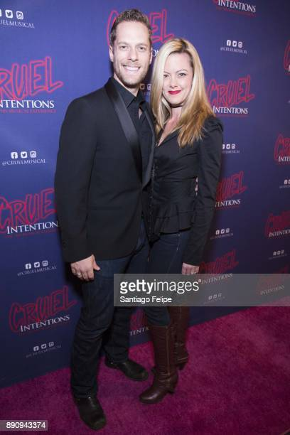 Spencer Howard and Kate Rockwell attend 'Cruel Intentions' The 90's Musical Experience at Le Poisson Rouge on December 11 2017 in New York City