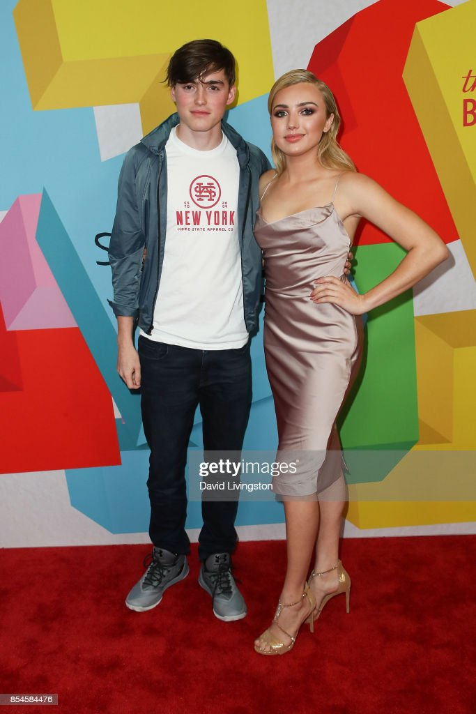 Spencer List and Peyton List attend the 7th Annual 2017 Streamy Awards at The Beverly Hilton Hotel on September 26, 2017 in Beverly Hills, California.
