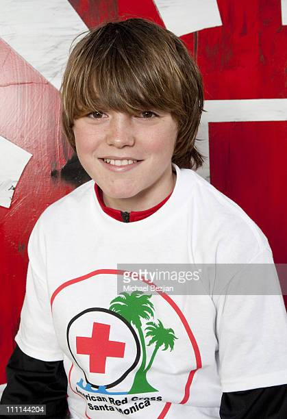 Spencer List attends Fatburger With The PhotoFund At Josh Duhamel's Red Cross Youth Run For the American Red Cross on March 27 2011 in Santa Monica...