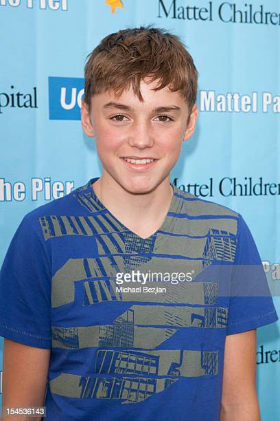 Spencer List attends Mattel Party On The Pier Benefiting Mattel Children's Hospital UCLA Red Carpet at Pacific Park at Santa Monica Pier on October...