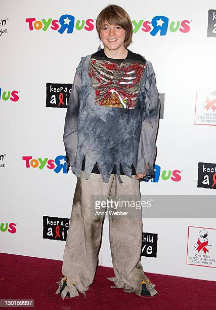 Spencer List attends the 10th Annual Dream Halloween New York event at the Hard Rock Cafe Times Square on October 23 2011 in New York City