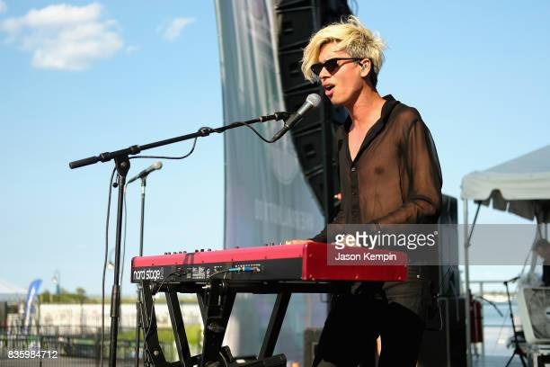 Spencer Ludwig performs during Day Two of 2017 Billboard Hot 100 Festival at Northwell Health at Jones Beach Theater on August 20 2017 in Wantagh City