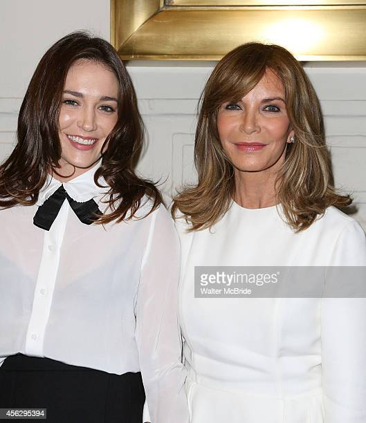 Spencer Margaret Richmond and mother Jackyln Smith attend the Broadway Opening Night performance of 'You Can't Take It With You' at the Longarce...