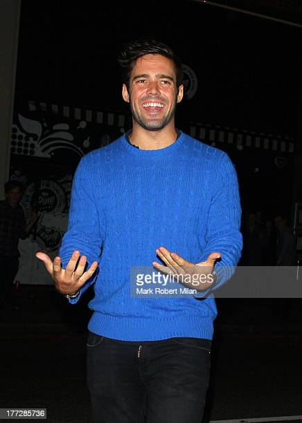 Spencer Matthews at PING club on August 22 2013 in London England