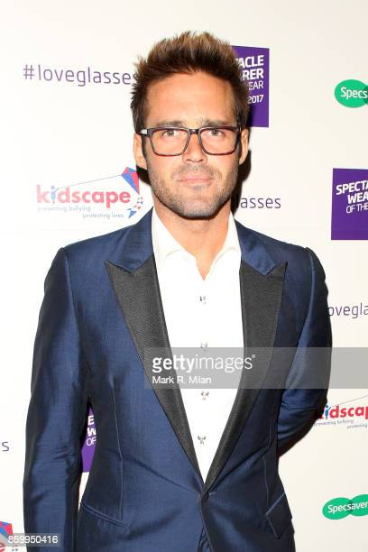 Spencer Matthews attending the Specsavers 'Spectacle Wearer of the Year' awards on October 10 2017 in London England