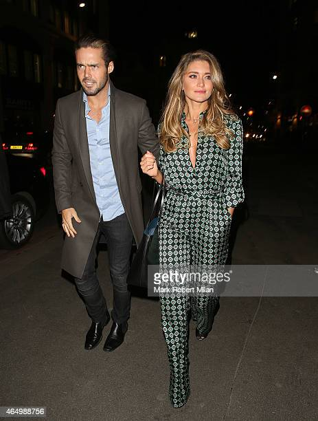 Spencer Matthews attending The Sun Bizarre Party at Steam and Rye on March 2 2015 in London England