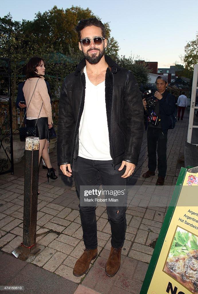 London Celebrity Sightings -  May 20, 2015