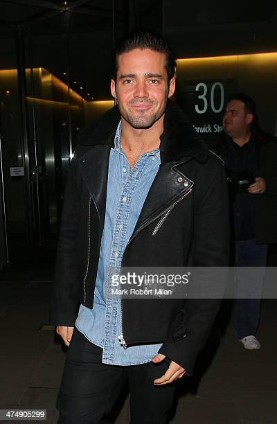 Spencer Matthews attending the Total Minx Launch Party on February 25 2014 in London England