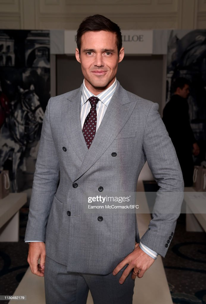 GBR: Paul Costelloe - Front Row - LFW February 2019