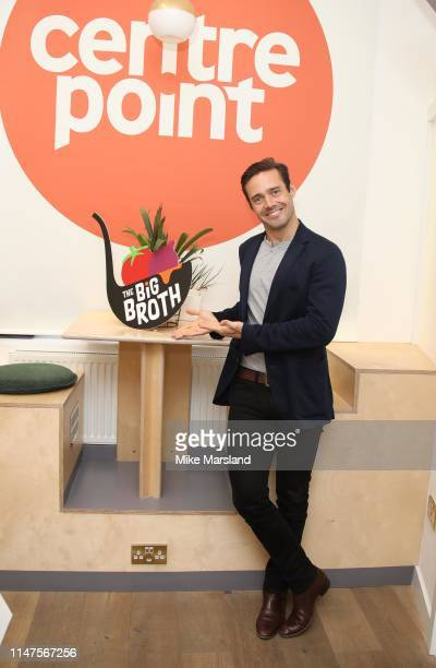 Spencer Matthews during Centrepoint'sThe Big Broth Competition2019 at Centrepoint Learning Centre on May 07 2019 in London England