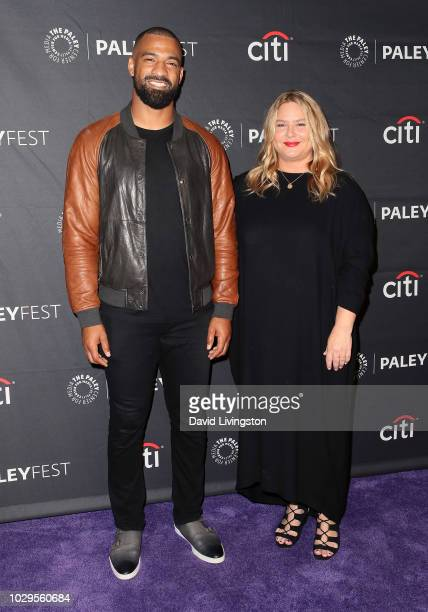Spencer Paysinger and April Blair from All American attend The Paley Center for Media's 2018 PaleyFest Fall TV Previews The CW at The Paley Center...
