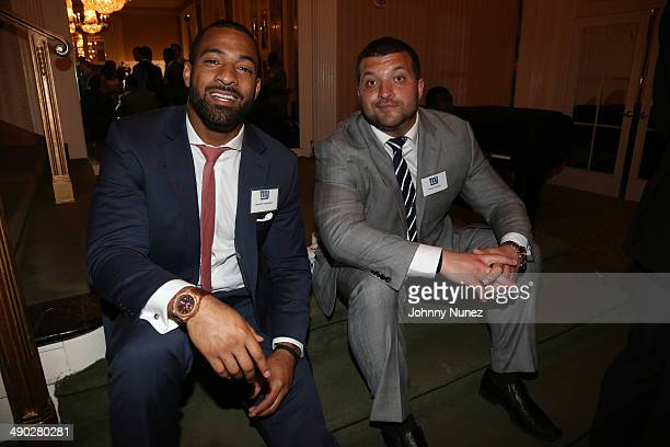 Spencer Paysinger and Henry Hynoski attend the 21st Annual Gridiron gala at The Waldorf=Astoria on May 13 2014 in New York City