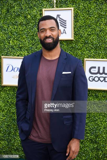 Spencer Paysinger attends The CW Network's Fall Launch Event Arrivals at Warner Bros Studios on October 14 2018 in Burbank California