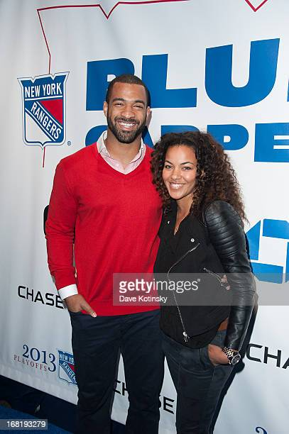 Spencer Paysinger attends the Washington Capitals vs New York Rangers 2013 Playoff Game Three at Madison Square Garden on May 6 2013 in New York City