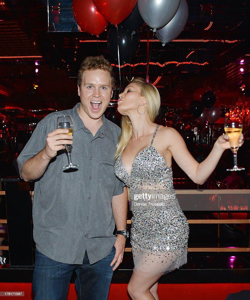 Spencer Pratt and Heidi Montag celebrate Spencer Pratt's