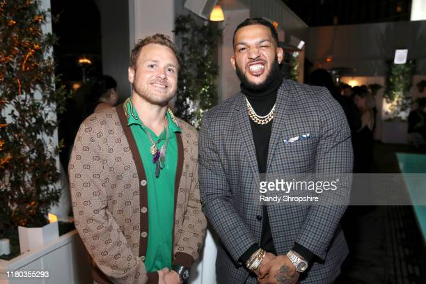 Spencer Pratt and Jacob Payne attend WE tv Celebrates The 100th Episode Of The Marriage Boot Camp Reality Stars Franchise And The Premiere Of...