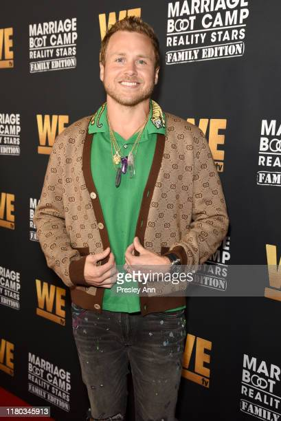 Spencer Pratt attends WE tv Celebrates the 100th Episode of the Marriage Boot Camp reality stars franchise and the premiere of Marriage Boot Camp...