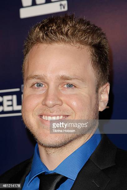 Spencer Pratt attends WE TV's 'Marriage Boot Camp' reality stars 'David Tutera's Celebrations' premiere party at 1 OAK on January 8 2015 in West...
