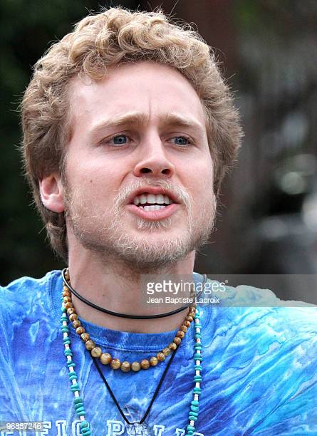 Spencer Pratt is seen in Beverly Hills at on February 19 2010 in Los Angeles California