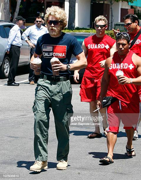 Spencer Pratt is seen on July 15 2010 in Los Angeles California