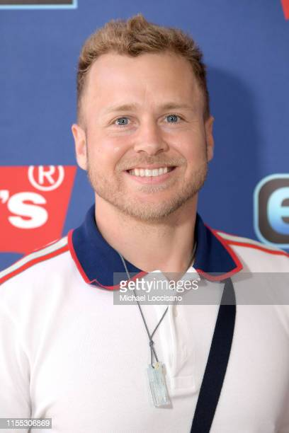 "Spencer Pratt visits ""Extra"" at The Levi's Store Times Square on June 11, 2019 in New York City."