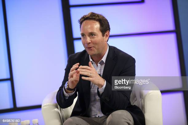 Spencer Rascoff chief executive officer of Zillow Group Inc speaks during the Montgomery Summit in Santa Monica California US on Wednesday March 8...