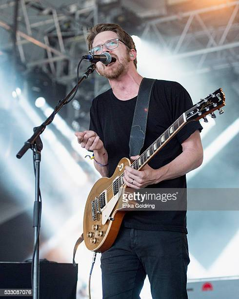 Spencer Thomson of Moon Taxi performs on May 19 2016 in Gulf Shores Alabama