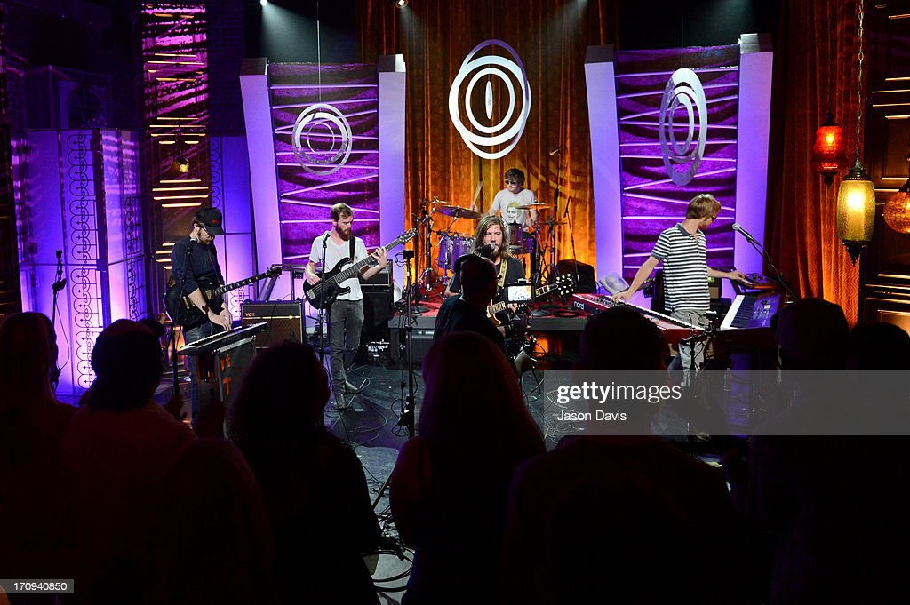 Spencer Thomson, Tommy Putnam, Trevor Terndrup, Tyler Ritter and Wes Bailey or Moon Taxi perform during the MTV, VH1, CMT & LOGO 2013 O Music Awards on June 20, 2013 in Nashville, Tennessee.