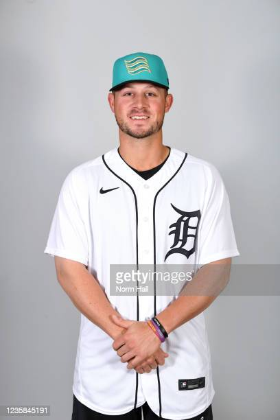 Spencer Torkelson of the Salt Rive Rafters poses for a headshot during the 2021 Arizona Fall League Headshots at Salt River Fields at Talking Stick...