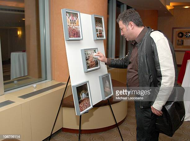 Spencer Tunick Photographer during HBO Documentary Special Screening of Positively Naked at HBO Theatre in New York City New York United States