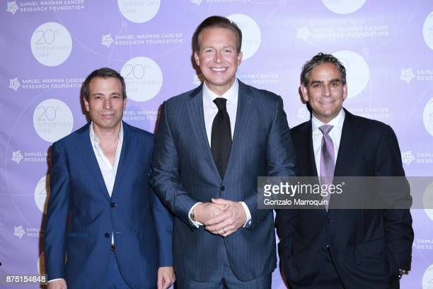 Spencer Waxman Chris Wragge and Michael Nierenberg during the Samuel Waxman Cancer Research Foundation's COLLABORATING FOR A CURE 20th Anniversary...