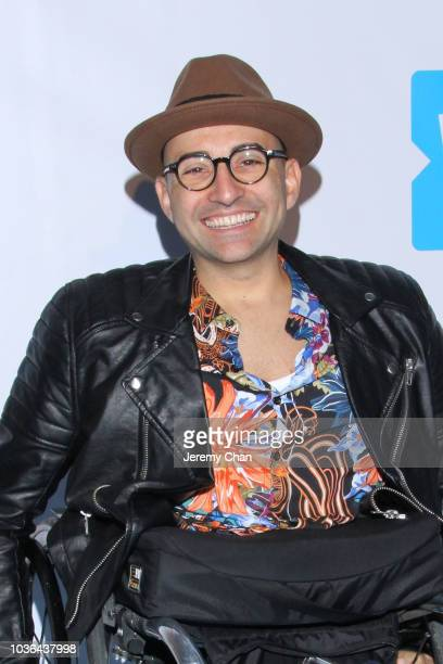 Spencer West arrives to WE Day Toronto and the WE Carpet at Scotiabank Arena on September 20 2018 in Toronto Canada