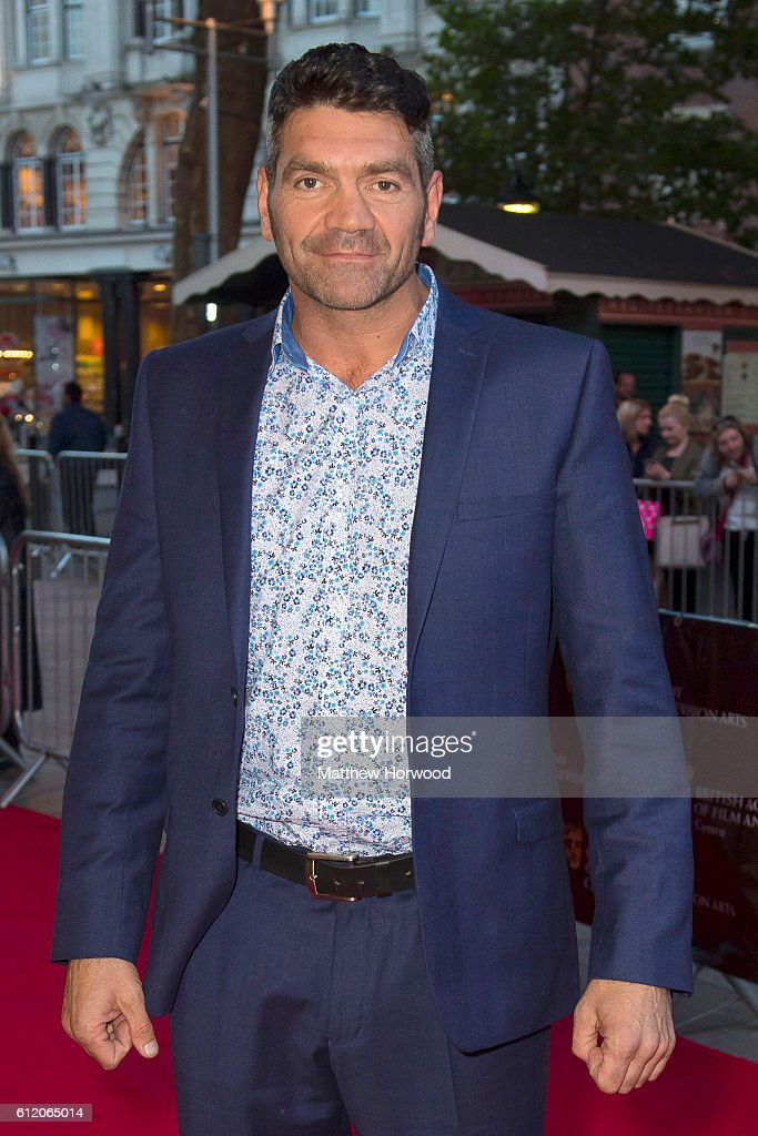 Spencer Wilding arrives for the 25th British Academy Cymru Awards at St David's Hall on October 2, 2016 in Cardiff, Wales.