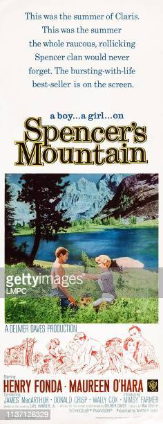 Spencer's Mountain poster US poster from left James MacArthur Mimsy Farmer 1963