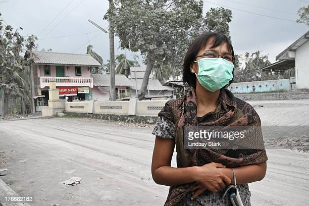 CONTENT] Spending a bit of time in an ash covered village following the eruption of Merapi volcano Magelang Indonesia