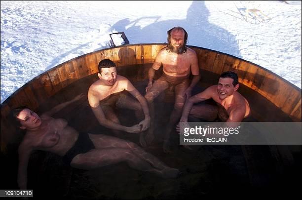 Spending A Night In The ColdAt The Ice Hotel On January 4Th 2002 In Jukkasjorvi Sweden