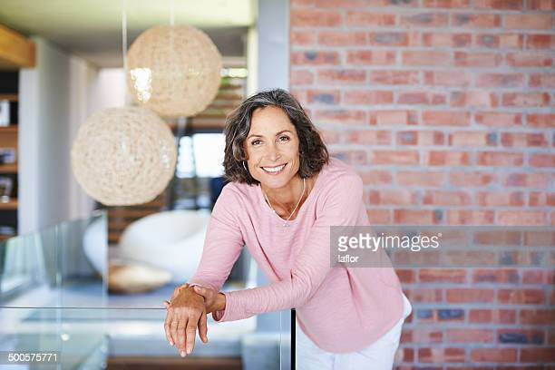 spending a relaxed weekend at home - one mature woman only stock pictures, royalty-free photos & images