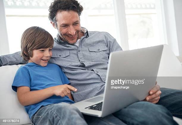 Verbringen Sie einen Nachmittag mit Vater online