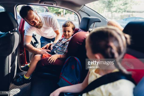 spending the day with dad - road trip stock pictures, royalty-free photos & images